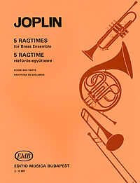 Scott Joplin Joplin: 5 Ragtimes for Brass Ensemble shyam kumar mishra antimicrobial drug resistance in lower respiratory tract infection