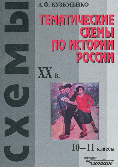 Тематические схемы по истории России: XX в. 10-11 классы