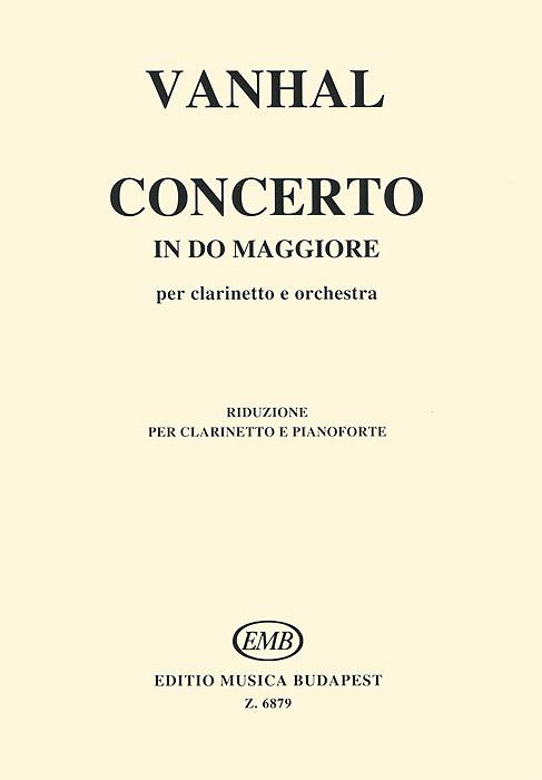 J. B. Vanhal Vanhal: Concerto in do maggiore per clarinetto e orchestra