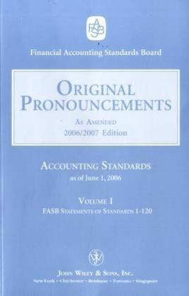 2006 Original Pronouncements, Volume 1–3 2006