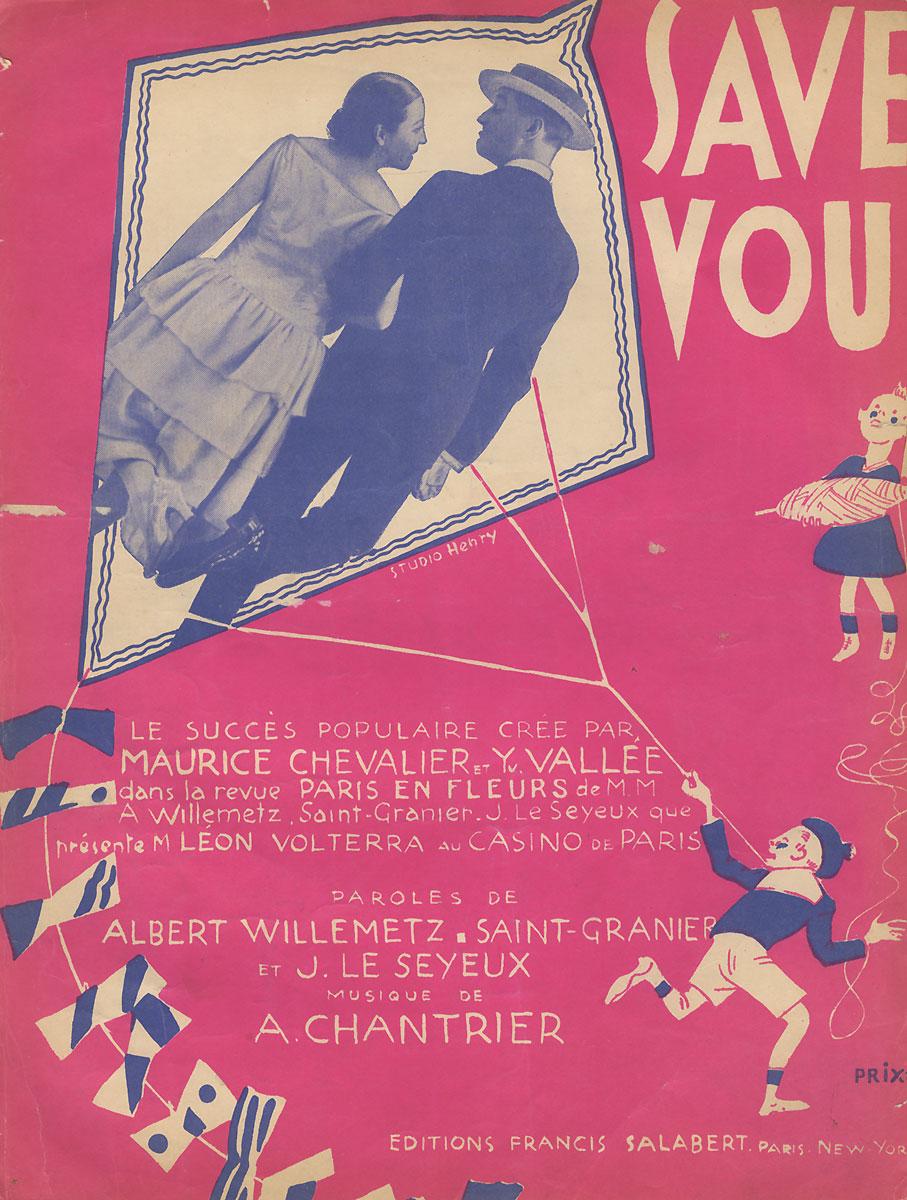 Savez-vous! Chanson-sayneteFILTER 004Вашему вниманию предлагаются ноты романса начала прошлого века Savez-vous! Chanson-saynete.