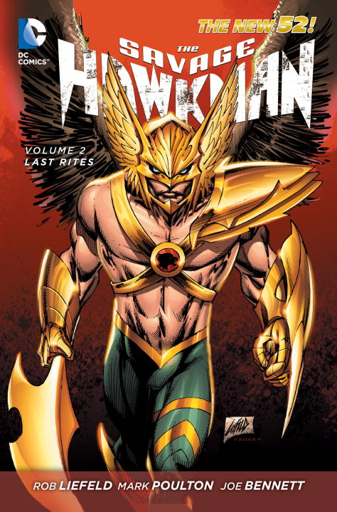 SAVAGE HAWKMAN VOL 02 RITES  keith giffen threshold vol 1 the hunted the new 52