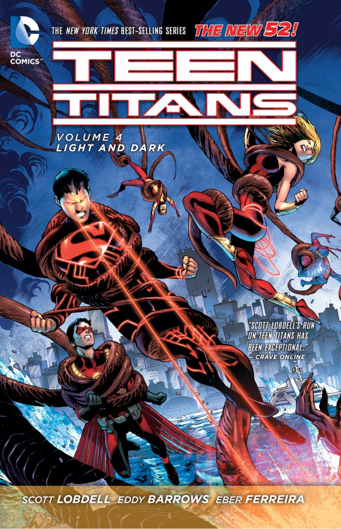 Teen Titans: Volume 4: Light and Dark teen titans vol 4 light and dark the new 52