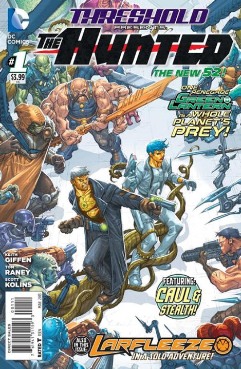 THRESHOLD VOL. 1  keith giffen threshold vol 1 the hunted the new 52