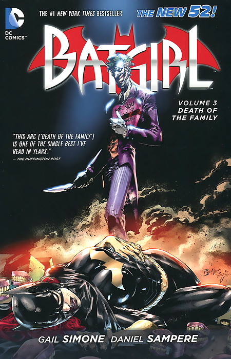 Batgirl: Volume 3: Death of the Family death comes as the end
