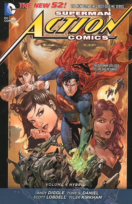 Superman Action Comics: Volume 4: Hybrid greg pak superman action comics volume 5 what lies beneath