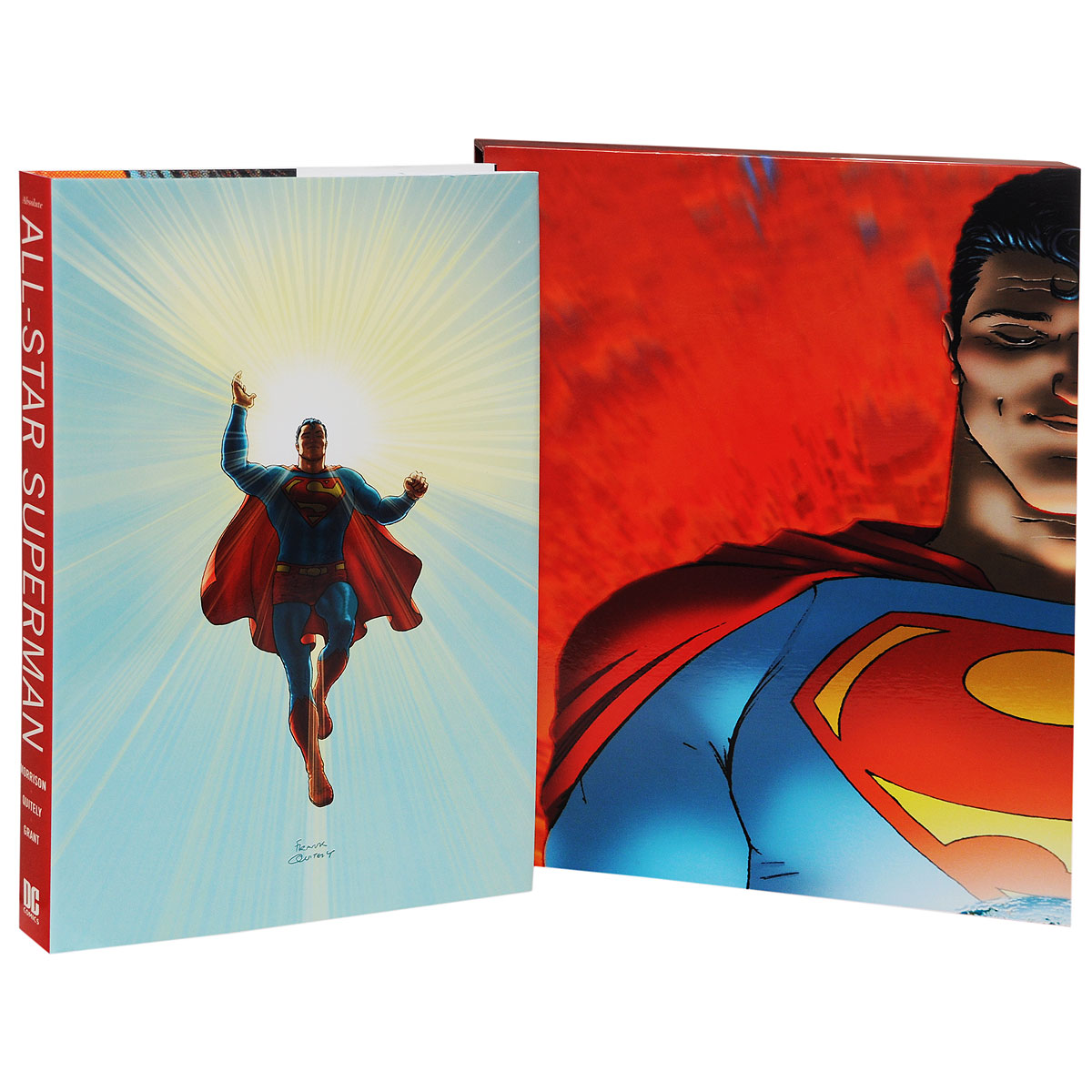 Absolute All Star Superman grant morrison the invisibles