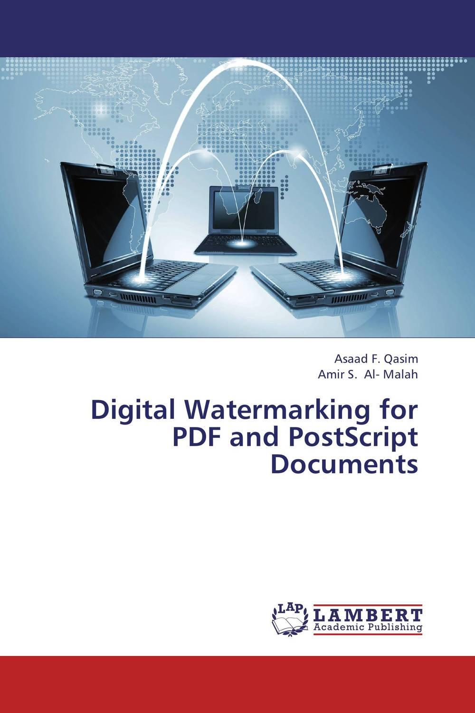 Digital Watermarking for PDF and PostScript Documents amrinder singh brar mandeep kaur and sumandeep kaur medical image watermarking