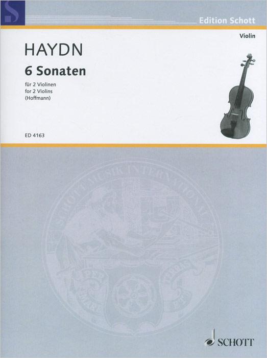 Joseph Haydn Haydn: 6 Sonaten fur 2 voilinen