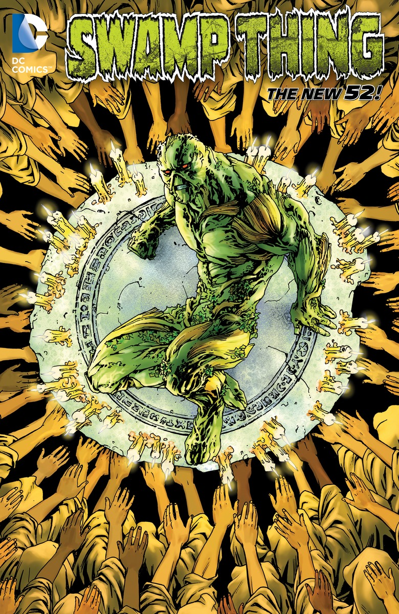 Swamp Thing: Volume 6: The Sureen swamp thing by scott snyder the deluxe edition