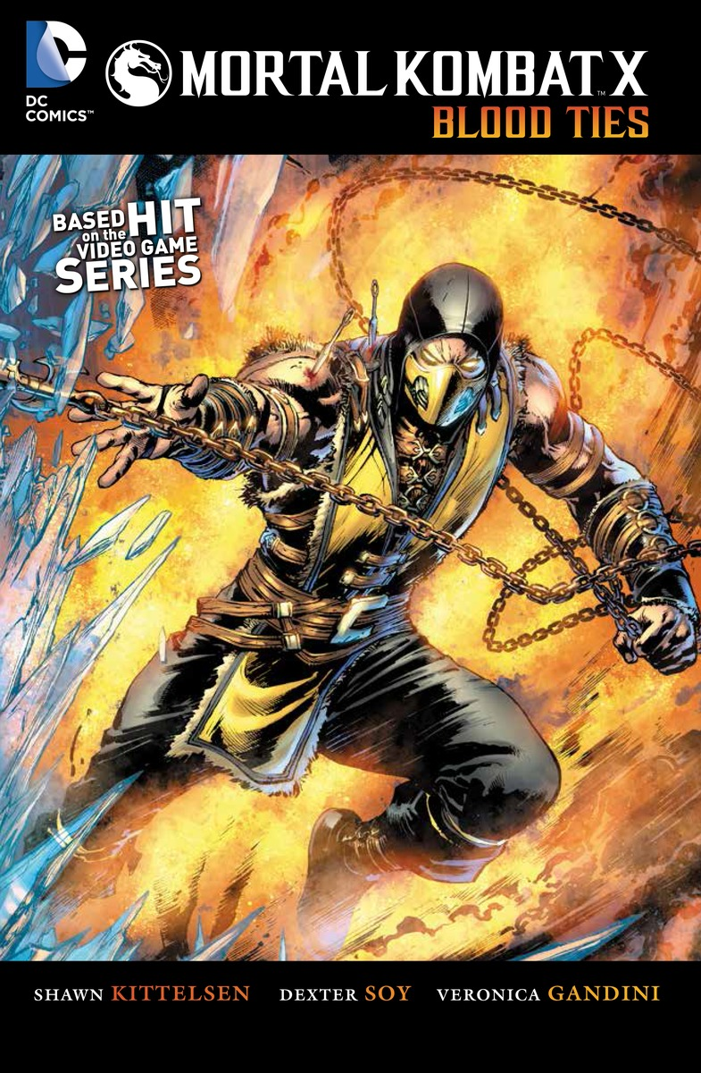Mortal Kombat X: Volume 1: Blood Ties mortal kombat xl xbox one