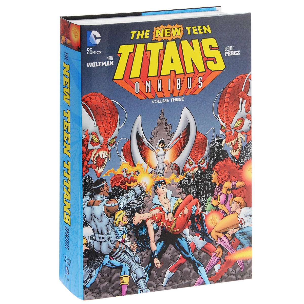 New Teen Titans Omnibus: Volume 3 teen titans vol 4 light and dark the new 52