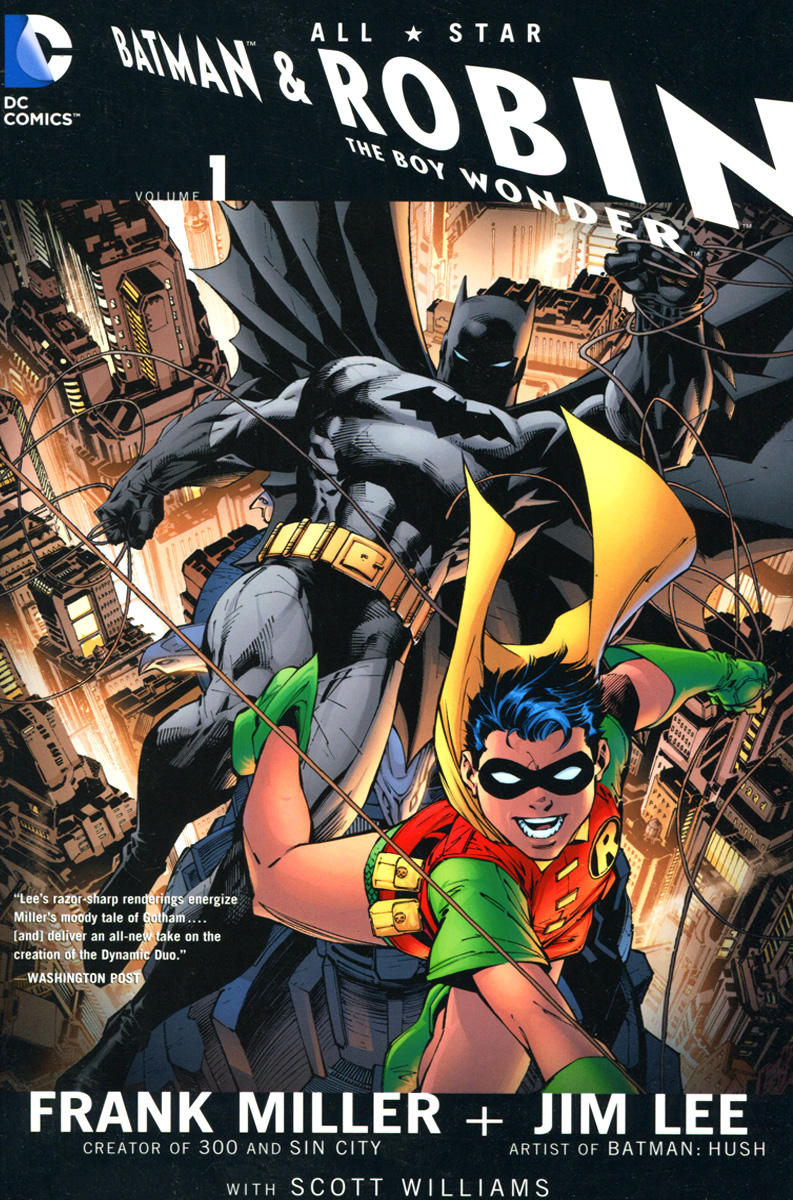 All Star Batman & Robin, the Boy Wonder miller frank batman dkr deluxe