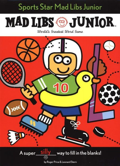 Sports Star Mad Libs Junior the amazing world of gumball mad libs