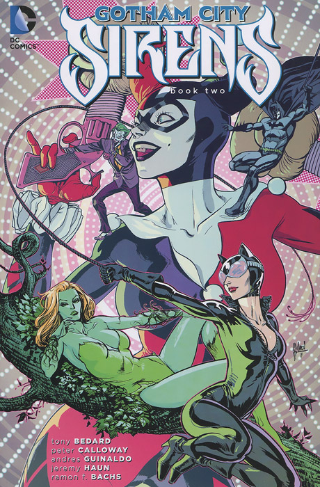 Gotham City Sirens: Book Two cloning with gesture expressivity
