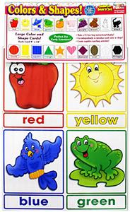 Раскраска цвета на английском языке