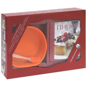"""Книга """"Пироги (+ силиконовая форма для выпечки и кисточка для смазывания)"""" - купить книгу ISBN 978-5-699-57242-7 с доставкой по почте в интернет-магазине OZON.ru"""