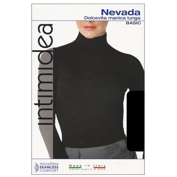 Водолазка женская Intimidea Nevada, цвет: черный (Nero). Размер M/L