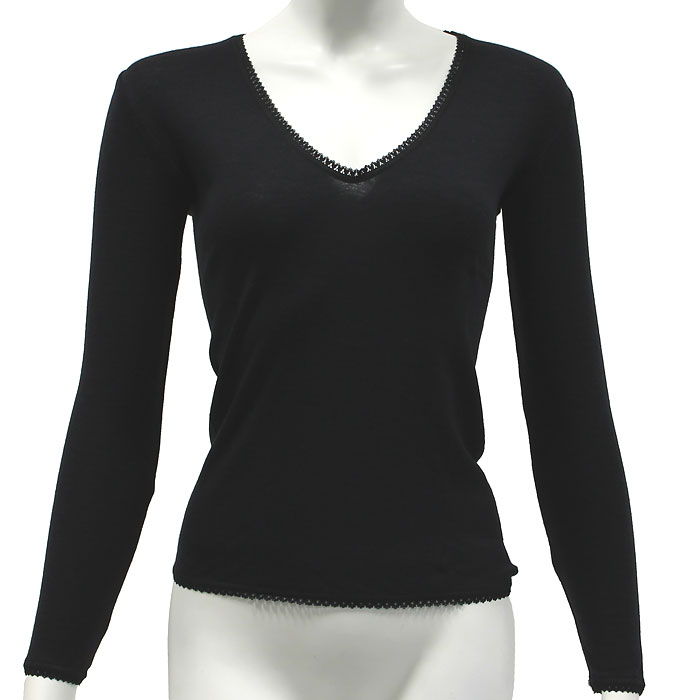 Термобелье футболка с длинным рукавом женская Cratex, цвет: черный. 3615. Размер XL (50-52)