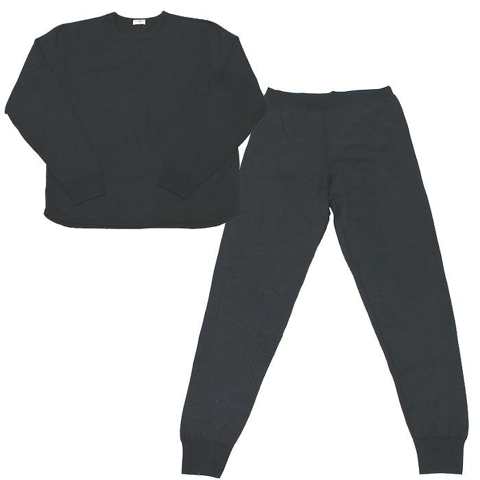 Термобелье с хитофайбером мужское Cratex, цвет: черный. 3614. Размер L (50-52) термобелье cratex мужское