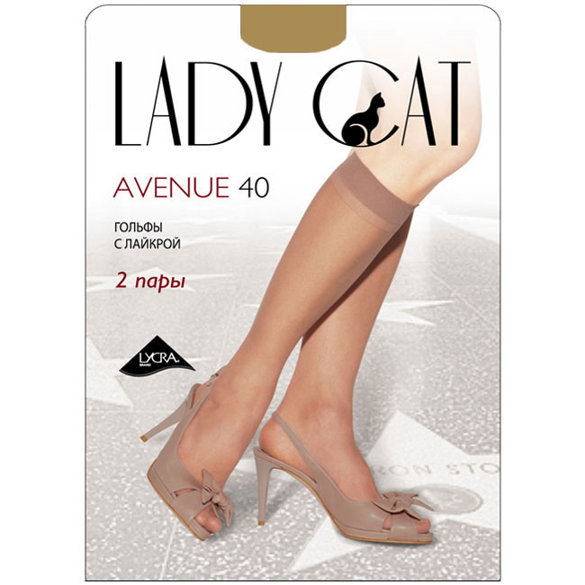 Гольфы женские Грация Lady Cat Avenue 40, цвет: телесный. Размер универсальныйAvenue 40Тонкие эластичные гольфы Грация Lady Cat Avenue 40 - удобные и комфортные сусиленным мыском.В коллекциях колготокГрацияпредставлены модели, которые станут удачным дополнением к гардеробу любой женщины. Модели с заниженной и классической линией талии, совсем тоненькие с эффектом прохлады для жарких дней и утепленные с добавлением шерсти. Любая модница знает, что особое внимание при выборе одежки для своих ножек следует уделять фактуре изделия. В коллекции колготокГрациявы найдете и шелковистые колготки с добавлением лайкры, которые окутают ваши ножки легким мерцанием, и более строгие матовые модели. Но главная особенность колготокГрация- их практичность: они устойчивы к появлению затяжек и очень прочны. В особенно уязвимых зонах многие модели специально уплотнены, что обеспечивает дополнительную защиту.