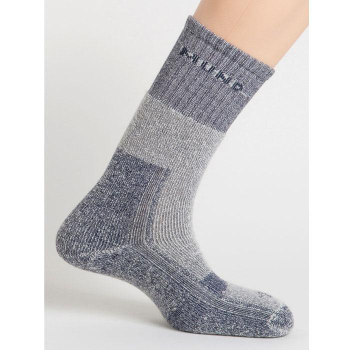 Термоноски Mund Altai, цвет: темно-синий. 402. Размер L (41-45)402Зимние треккинговые носки из шерстяной нити. Сохраняют тепло при температуре до -15°С. Носок содержит полиамид для повышения износостойкости, эластан и лайкру для оптимального облегания ноги.