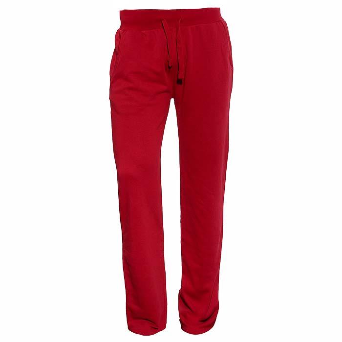 Брюки спортивные, мужские Fruit of the Loom Lexington Jog Pants, цвет: чили. 14-032-P-P148-1C. Размер S (44-46)