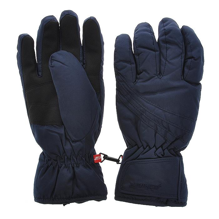 Перчатки горнолыжные женские ZANIER CHANGE DA, цвет: синий. 27010. Размер L (7,5)27010Горнолыжные женские перчатки CHANGE DAПерчатки предназначены для занятий активными видами спорта и для носки в городе в холодную погоду. - Самые коммерческие перчатки- Абсолютный хит продаж на протяжении многих лет - Анатомический крой- Усиление большого пальца- Резинка по запястью- Регулировка по манжету на липучке - Мембрана обеспечивает защиту от намокания, отведение влаги и сохраняет руки сухими и теплыми во время занятий спортом Австрийская компания ZANIER производит аксессуары для активных видов спорта более 30 лет и на сегодняшний день является лидером продаж на Австрийском рынке и входит в четверку сильнейших производителей Европы. Перчатки ZANIER надежны, разработаны и протестированы в горах профессиональными спортсменами. Компания является официальным поставщиком сборной команды Австрии по сноуборду.
