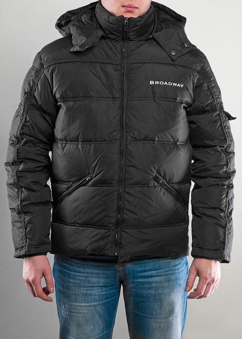 Куртка мужская Broadway, цвет: черный. MW13001. Размер M (48)MW13001Теплая мужская куртка, выполненная из полиэстера, не сковывает движения, обеспечивая наибольший комфорт. Модель имеет два внешних кармана на молнии и один внутренний карман. Капюшон отстегивается с помощью молнии. Куртка застегивается с помощью молнии. Теплая куртка идеально подходит для отдыха на природе и прогулок в прохладную погоду.