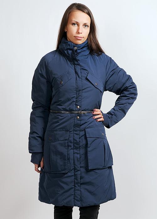 Куртка женская Cheap Monday Hiromi, цвет: синий. 130116. Размер XS (42)130116Стильная женская куртка, изготовленная из полиэстера с добавлением полиамида, не сковывает движения, обеспечивая наибольший комфорт.Модель с двумя карманами на груди и двумя накладными карманами застегивается на кнопки. Низ куртки отстегивается на уровне талии с помощью молнии.Такая куртка - отличный вариант для прогулок в прохладную погоду.