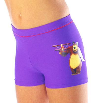 Плавки для мальчика Lowry Маша и Медведь, цвет: фиолетовый. BST-1. Размер 36 (XL)BST-1Плавки-шорты для мальчика Lowry Маша и Медведь изготовлены из полиамида и эластана, благодаря чему позволяют коже ребенка дышать, быстро сохнут и сохраняют первоначальный вид и форму даже при длительном использовании. Они комфортны в носке, даже когда ребенок мокрый.Плавки на поясе имеют широкую эластичную резинку со шнурком, не сдавливающую животик малыша.Сбоку они оформлены аппликацией с изображением любимых героев из мультфильма Маша и Медведь.Такие плавки, несомненно, понравится каждому малышу.
