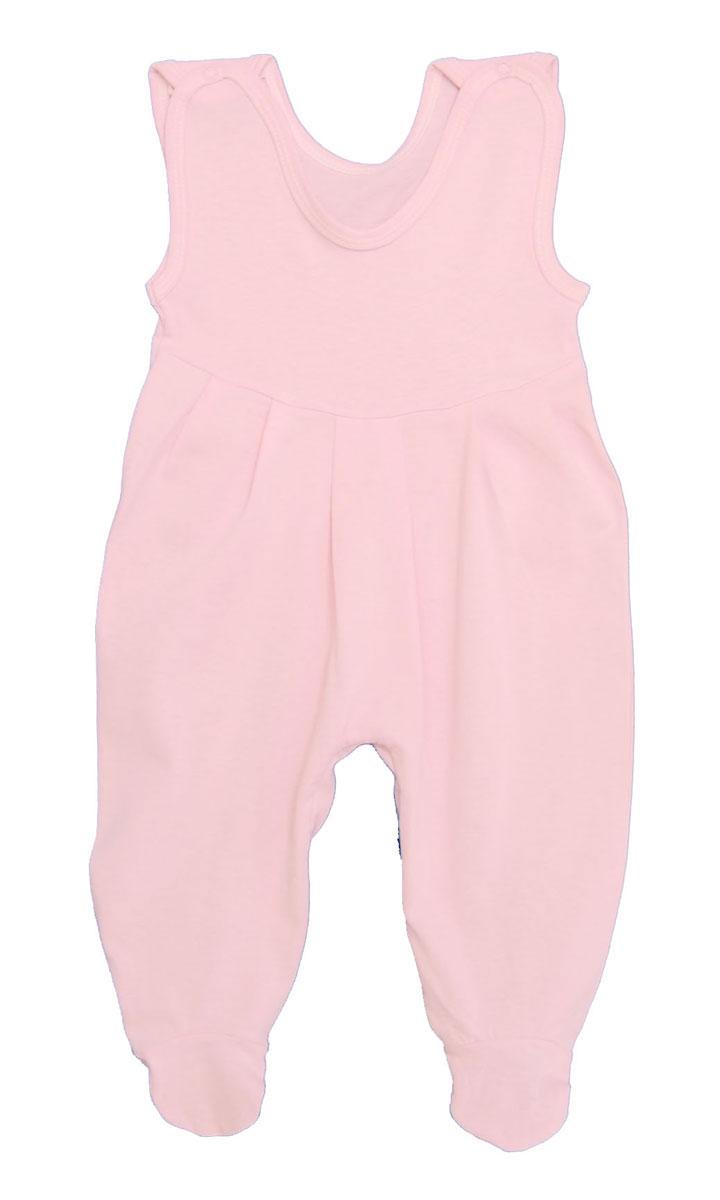 Ползунки с грудкой Трон-плюс, цвет: розовый. 5237. Размер 68, 6 месяцев5237Ползунки с грудкой Трон-плюс - очень удобный и практичный вид одежды для малышей. Они отлично сочетаются с футболками и кофточками. Ползунки выполнены из кулирного полотна - натурального хлопка, благодаря чему они необычайно мягкие и приятные на ощупь, не раздражают нежную кожу ребенка и хорошо вентилируются, а эластичные швы приятны телу младенца и не препятствуют его движениям. Ползунки с закрытыми ножками, застегивающиеся сверху на кнопки, идеально подойдут вашему ребенку, обеспечивая ему наибольший комфорт, подходят для ношения с подгузником и без него. Кнопки на ластовице помогают легко и без труда поменять подгузник в течение дня. От линии груди заложены складочки, придающие изделию оригинальность.Ползунки с грудкой полностью соответствуют особенностям жизни младенца в ранний период, не стесняя и не ограничивая его в движениях!