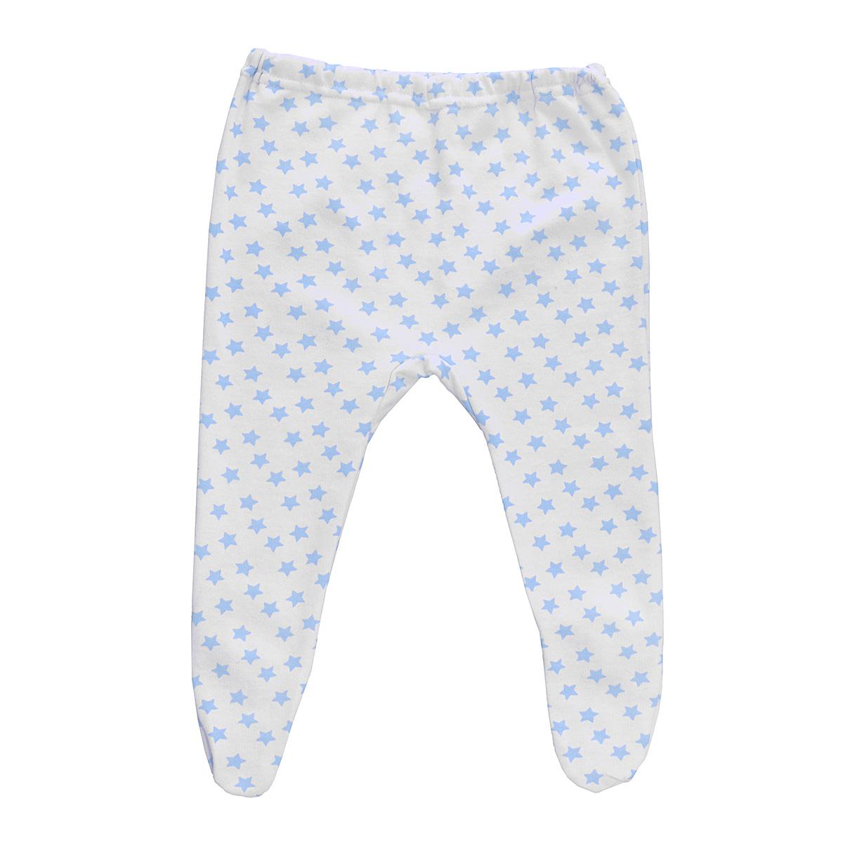 Ползунки Трон-Плюс, цвет: белый, голубой, рисунок звезды. 5256. Размер 62, 3 месяца5256Ползунки для новорожденного Трон-Плюс послужат идеальным дополнением к гардеробу вашего ребенка, обеспечивая ему наибольший комфорт.Модель, изготовленная из футерованного полотна - натурального хлопка, необычайно мягкая и легкая, не раздражает нежную кожу ребенка и хорошо вентилируется, а эластичные швы приятны телу малыша и не препятствуют его движениям. Теплые ползунки с закрытыми ножками благодаря мягкому эластичному поясу не сдавливают животик младенца и не сползают, идеально подходят для ношения с подгузником. Они полностью соответствуют особенностям жизни ребенка в ранний период, не стесняя и не ограничивая его в движениях.