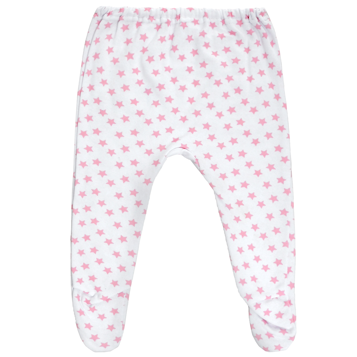 Ползунки Трон-Плюс, цвет: белый, розовый, рисунок звезды. 5256. Размер 68, 6 месяцев5256Ползунки для новорожденного Трон-Плюс послужат идеальным дополнением к гардеробу вашего ребенка, обеспечивая ему наибольший комфорт.Модель, изготовленная из футерованного полотна - натурального хлопка, необычайно мягкая и легкая, не раздражает нежную кожу ребенка и хорошо вентилируется, а эластичные швы приятны телу малыша и не препятствуют его движениям. Теплые ползунки с закрытыми ножками благодаря мягкому эластичному поясу не сдавливают животик младенца и не сползают, идеально подходят для ношения с подгузником. Они полностью соответствуют особенностям жизни ребенка в ранний период, не стесняя и не ограничивая его в движениях.