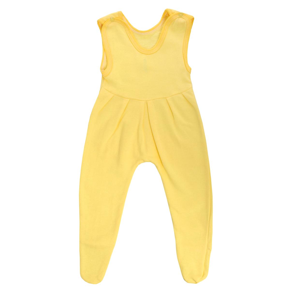 Ползунки с грудкой Трон-плюс, цвет: желтый. 5221. Размер 80, 12 месяцев холодильник side by side samsung rs552nrua1j