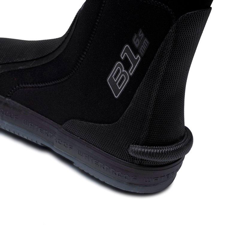 Боты для дайвинга Waterproof B1, цвет:  черный.  WP 107025.  Размер L (43/44) Waterproof