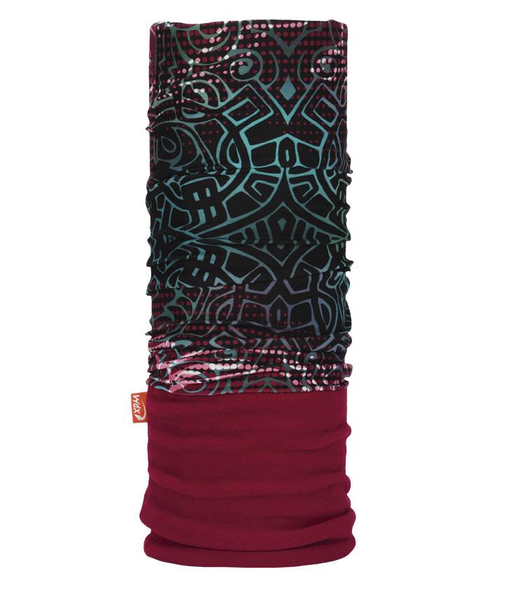 Бандана многофункциональная WdX PolarWind, цвет: Bordeux (2069). Размер универсальный25380771Многофункциональный головной убор WdX PolarWind - это очень современный предмет одежды, защитит вас от самого лютого мороза благодаря комбинации флиса и микрофибры. Его можно использовать как: шарф, шейный платок, бандану, повязку, ленту для волос, балаклаву, шапку. Подходит для занятий бегом, походов, скалолазания, езды на велосипеде, сноуборда, катания на лыжах, мотоциклах, игры в хоккей, а так же для повседневного использования.Сочетание ткани и флиса Pilhot из микроволокна гарантируют дополнительные тепло и комфорт, отведение влаги, быстрое высыхание, очень эластичны, принимают практически любую форму. Обладает антибактериальным эффектом.