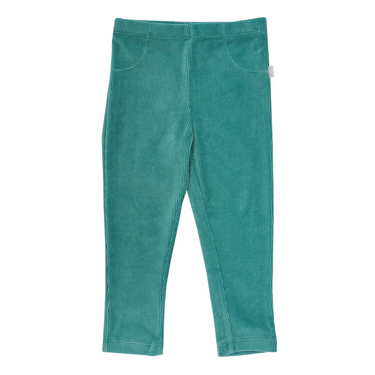 Леггинсы для девочки Chicco, цвет: зеленый. 9025497. Размер 74, 12 месяцев