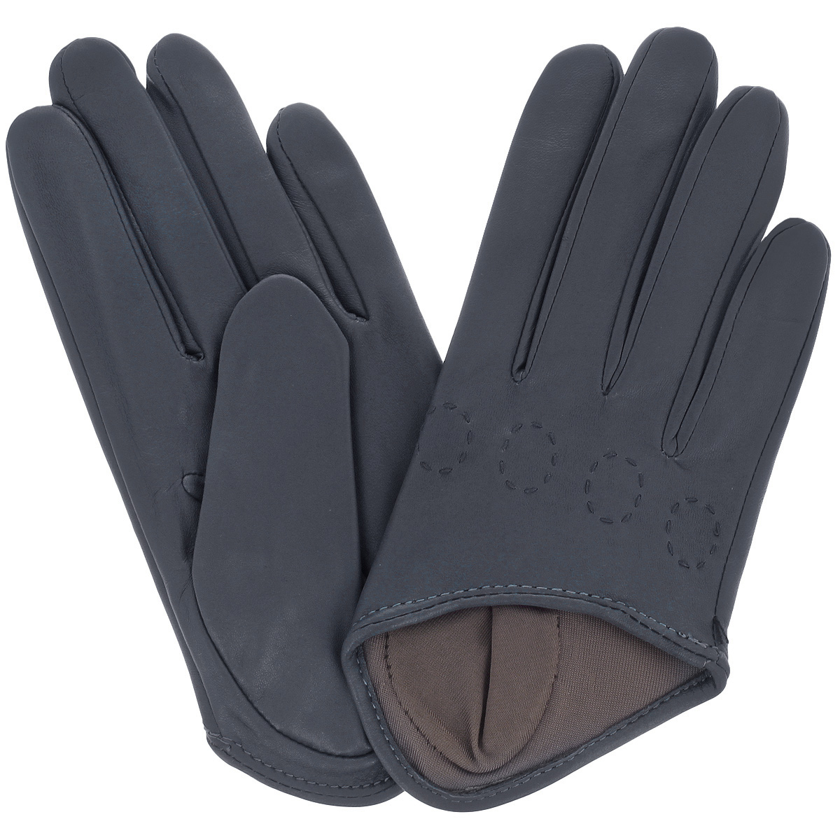Перчатки женские Michel Katana, цвет: чернильный. K81-IF1. Размер 6,5K81-IF1/ENCRСтильные перчатки Michel Katana с шелковой подкладкой выполнены из мягкой и приятной на ощупь натуральной кожи ягненка. Перчатки станут достойным элементом вашего стиля и сохранят тепло ваших рук. Это не просто модный аксессуар, но и уникальный авторский стиль, наполненный духом севера Франции.