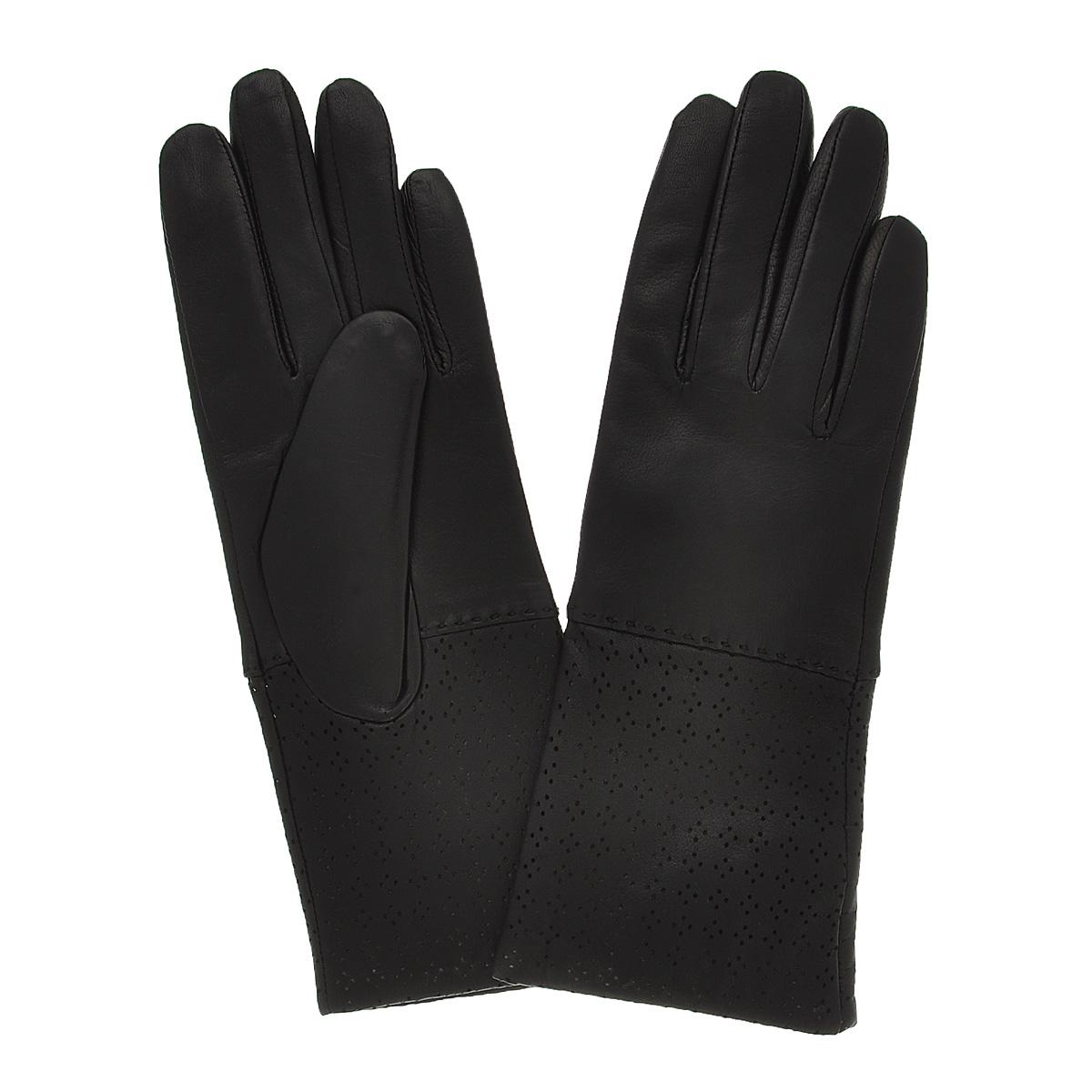 Перчатки женские Michel Katana, цвет: черный. K11-OSE. Размер 7K11-OSE/BLСтильные перчатки Michel Katana с шерстяной подкладкой выполнены из мягкой и приятной на ощупь натуральной кожи ягненка и оформлены декоративными стежками.Перчатки станут достойным элементом вашего стиля и сохранят тепло ваших рук.Это не просто модный аксессуар, но и уникальный авторский стиль, наполненный духом севера Франции.