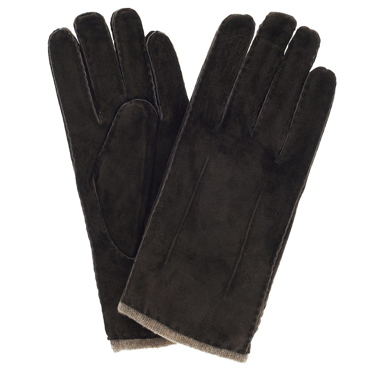 Перчатки мужские Dali Exclusive, цвет: коричневый. SP16_FORK/BRUN. Размер 8,5SP16_FORK/BRUNСтильные мужские перчатки Dali Exclusive не только защитят ваши руки, но и станут великолепным украшением. Перчатки выполнены из чрезвычайно мягкой и приятной на ощупь натуральной замши, а их подкладка - из натуральной шерсти. Перчатки с внешней стороны оформлены декоративными стежками.Модель благодаря своему лаконичному исполнению прекрасно дополнит образ любого мужчины и сделает его более стильным, придав тонкую нотку брутальности. Создайте элегантный образ и подчеркните свою яркую индивидуальность новым аксессуаром!