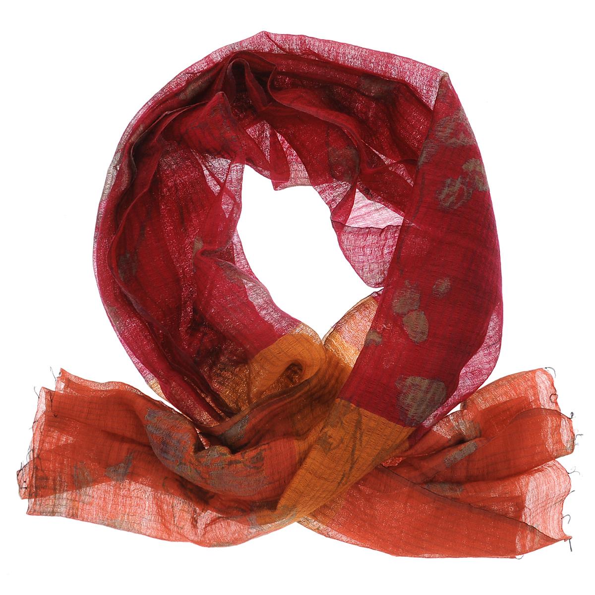 Палантин Michel Katana, цвет: красный. SW-ORCHID/PINK.RED. Размер 80 см x 180