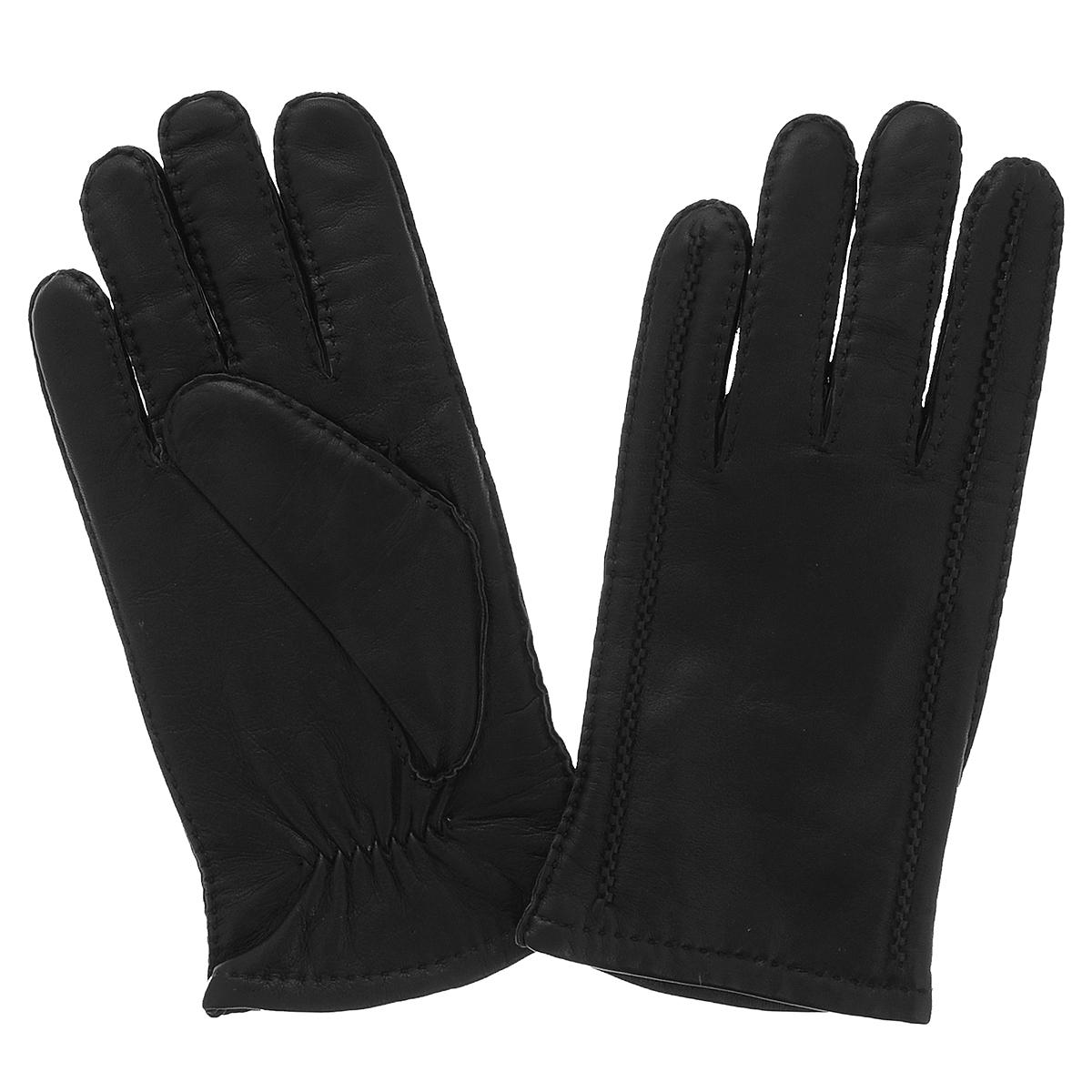 Перчатки мужские Dali Exclusive, цвет: черный. 100_METEOR/BL//11. Размер 8100_METEOR/BL//11Классические мужские перчатки Dali Exclusive не только защитят ваши руки, но и станут великолепным украшением. Перчатки выполнены из чрезвычайно мягкой и приятной на ощупь натуральной кожи ягненка, а их подкладка - из натуральной овечьей шерсти. Перчатки с внешней стороны оформлены декоративными швами и стежками.Модель благодаря своему лаконичному исполнению прекрасно дополнит образ любого мужчины и сделает его более стильным, придав тонкую нотку брутальности. Создайте элегантный образ и подчеркните свою яркую индивидуальность новым аксессуаром!