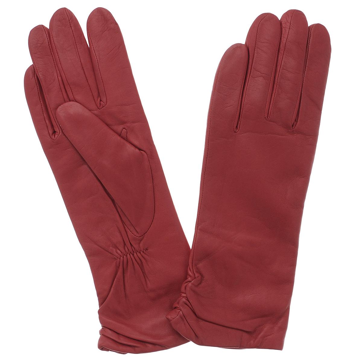 Перчатки женские Dali Exclusive, цвет: красный. 11_ASTRA/RED. Размер 6,511_ASTRA/REDСтильные удлиненные перчатки Dali Exclusive с подкладкой из шерсти выполнены из мягкой и приятной на ощупь натуральной кожи ягненка. Манжеты по боковому шву собраны на резинку. Такие перчатки подчеркнут ваш стиль и неповторимость и придадут всему образу нотки женственности и элегантности.