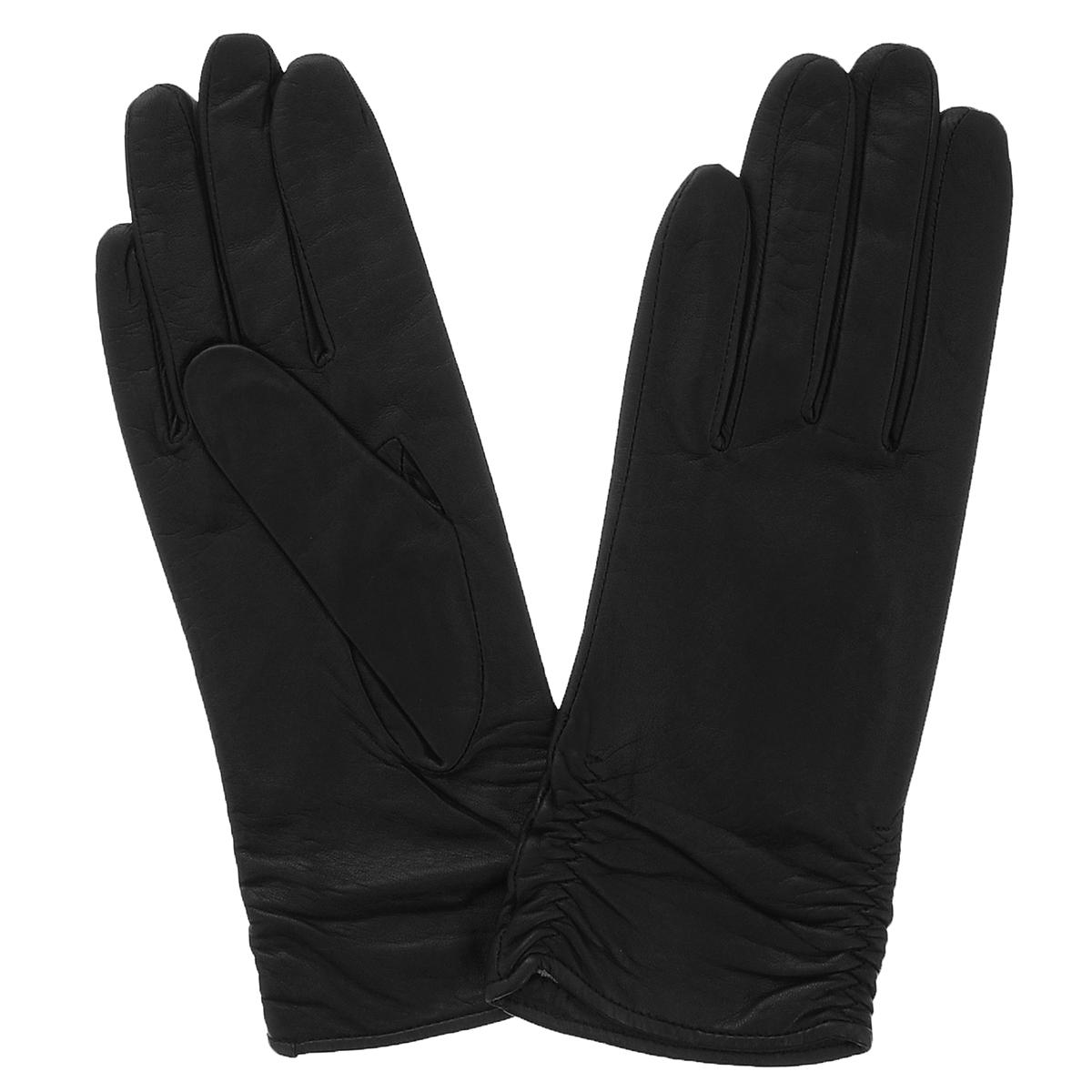 Перчатки женские Dali Exclusive, цвет: черный. 13_ASTRA/BL//11. Размер 7,513_ASTRA/BL//11Стильные женские перчатки Dali Exclusive выполнены из мягкой и приятной на ощупь натуральной кожи ягненка с подкладкой из 100% шерсти.Манжеты по боковому шву собраны на резинку.Такие перчатки подчеркнут ваш стиль и неповторимость.
