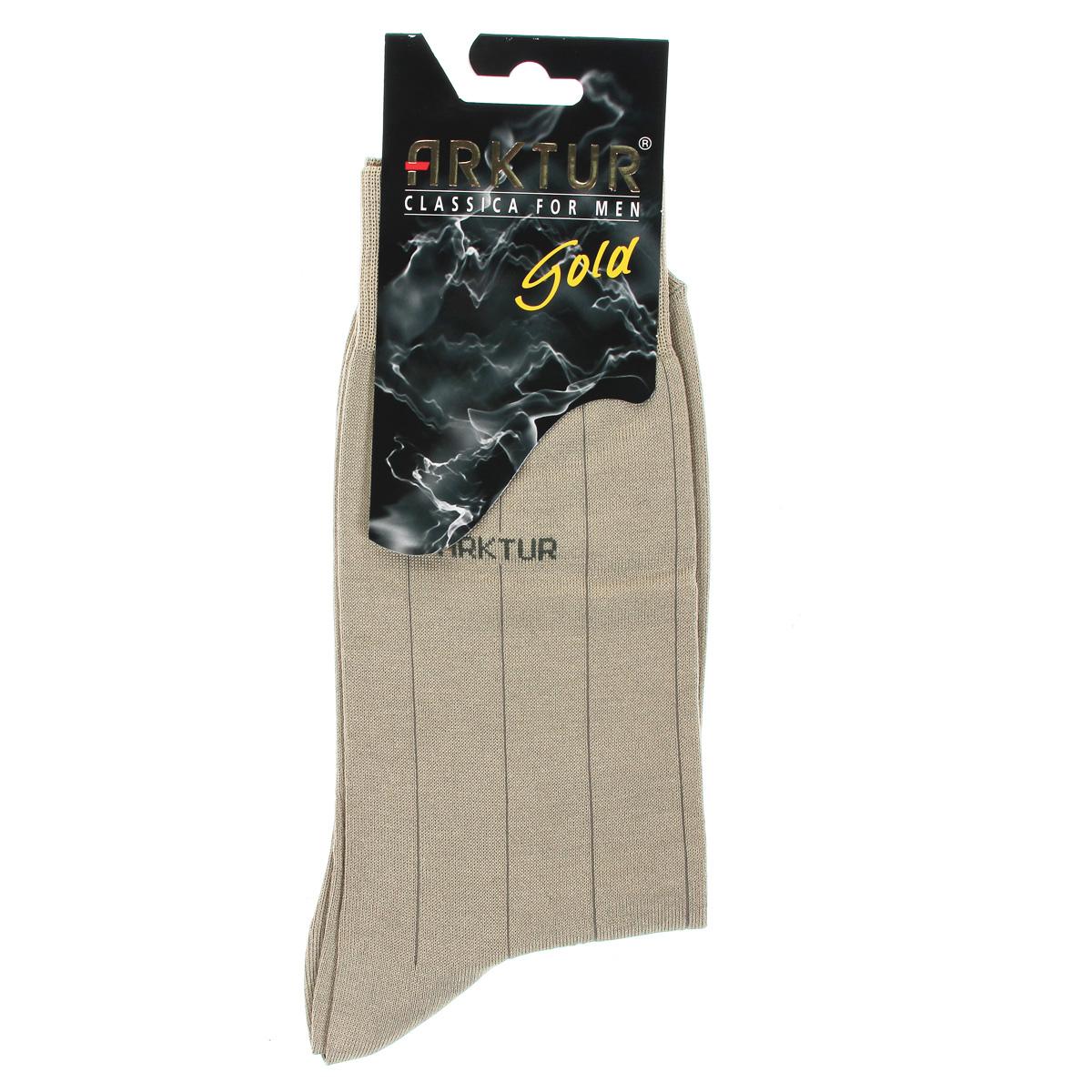 Носки мужские Arktur, цвет: светло-бежевый. Л151. Размер 42/43Л151Мужские носки Arktur престижного класса. Носки превосходного качества из мерсеризованного хлопка отличаются гладкой текстурой и шелковистостью, что создает приятное ощущение нежности и прохлады. Эргономичная резинка пресс-контроль комфортно облегает ногу. Носки обладают повышенной прочностью, не подвержены усадке. Усиленная пятка и мысок. Удлиненный паголенок.Идеальное сочетание практичности, комфорта и элегантности!