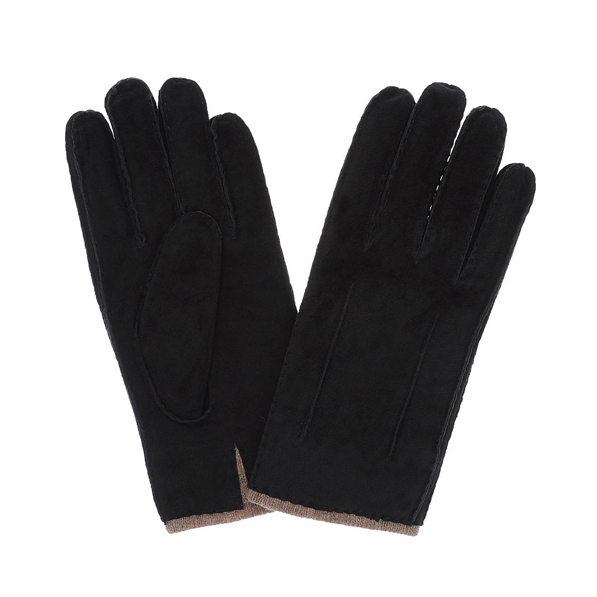 Перчатки мужские Dali Exclusive, цвет: черный. SP16_FORK/BL. Размер 8,5SP16_FORK/BLСтильные мужские перчатки Dali Exclusive не только защитят ваши руки, но и станут великолепным украшением. Перчатки выполнены из чрезвычайно мягкой и приятной на ощупь натуральной замши, а их подкладка - из натуральной шерсти. Перчатки с внешней стороны оформлены декоративными стежками.Модель благодаря своему лаконичному исполнению прекрасно дополнит образ любого мужчины и сделает его более стильным, придав тонкую нотку брутальности. Создайте элегантный образ и подчеркните свою яркую индивидуальность новым аксессуаром!