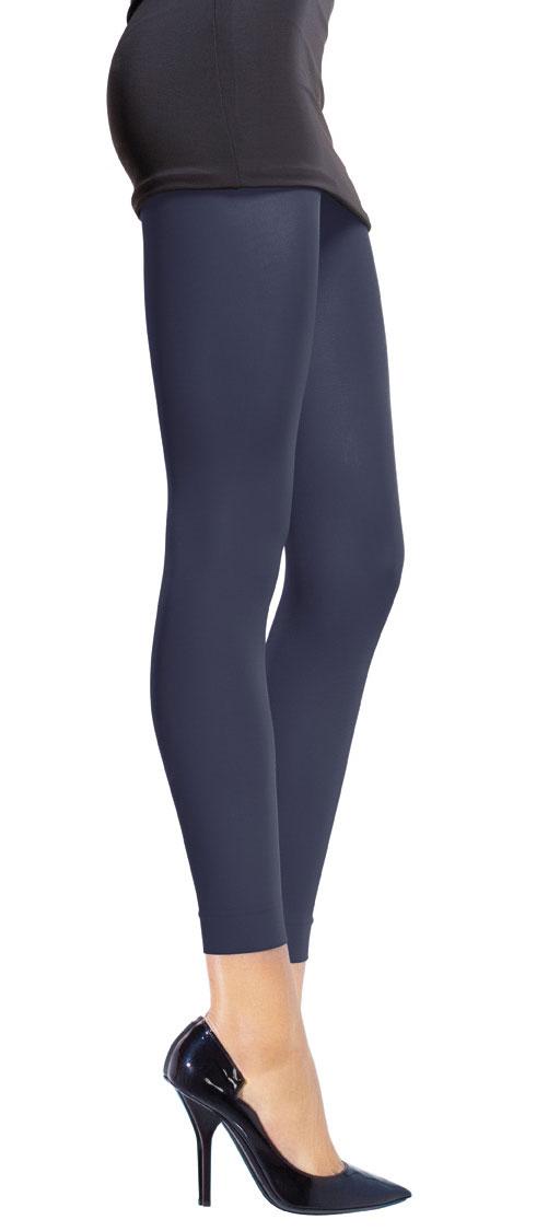 Леггинсы для похудения женские Slimn Color, цвет: темно-синий. 4307А_433. Размер M (44/48)4307А_433Женские леггинсы для похудения Slimn Color сочетают в себе модный предмет гардероба и последние разработки в косметотекстиле. Мягкая эластичная ткань обеспечивает легкую коррекцию силуэта. Плоские швы и отделка без утягивающих резинок позволяют леггинсам принимать форму вашего тела.Удобные в носке, леггинсы не деформируются и остаются модным аксессуаром вашего гардероба в любое время года. Для получения эффективного результата необходима регулярность в носке. Инкрустированные в волокно ткани микрокристаллы активируются, как только вы надеваете леггинсы, используя тепло вашего тела и возвращая его обратно в клетку в виде длинноволновых инфракрасных лучей. Этот обмен вызывает биостимуляцию вашего метаболизма: жиры сжигаются, их выведение из организма ускоряется, синтез коллагена повышается. При этом кожа становится гладкой и шелковистой, ее упругость и эластичность повышается. Плотность: 80 den.