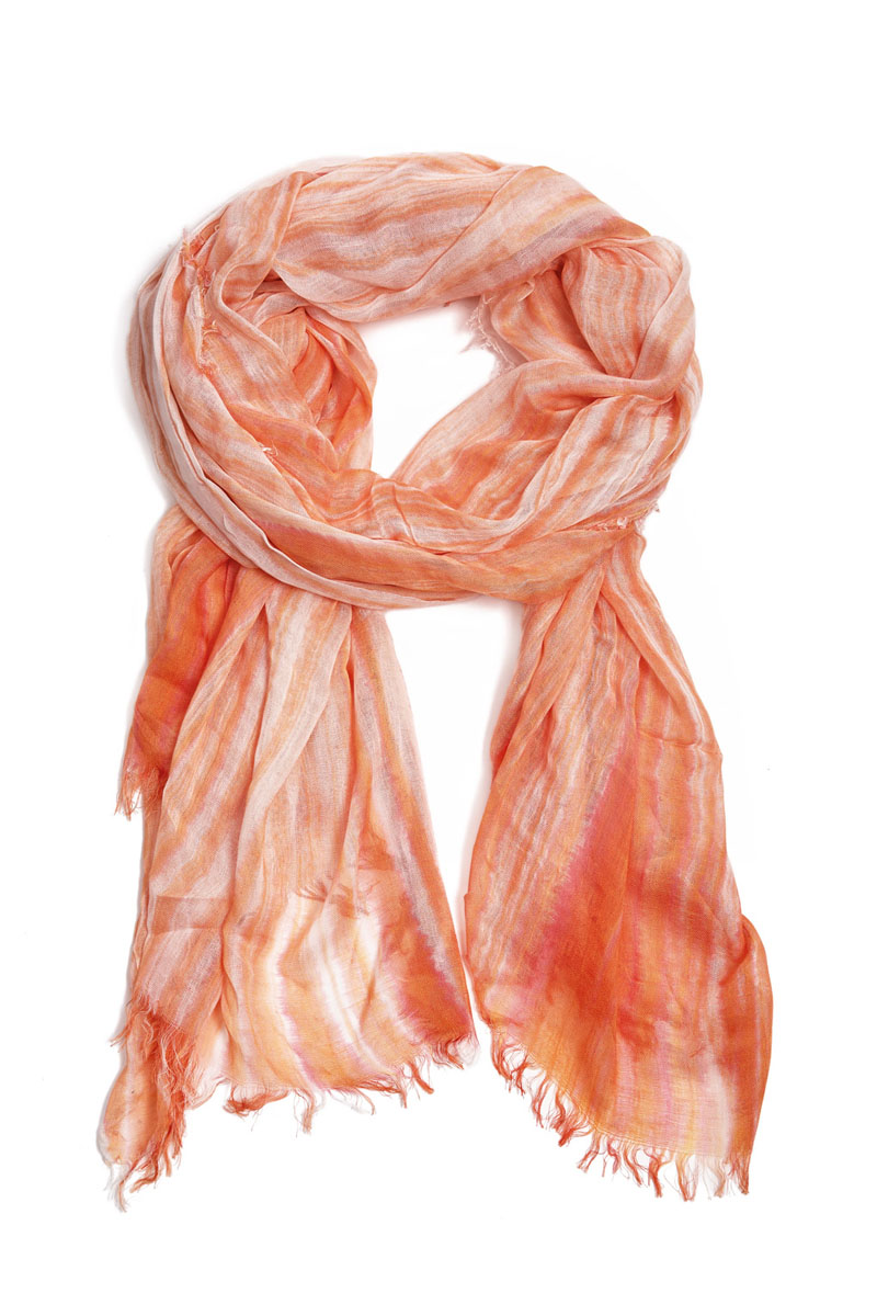 Палантин Moltini, цвет: оранжевый. 31004-04V. Размер 190 см х 95