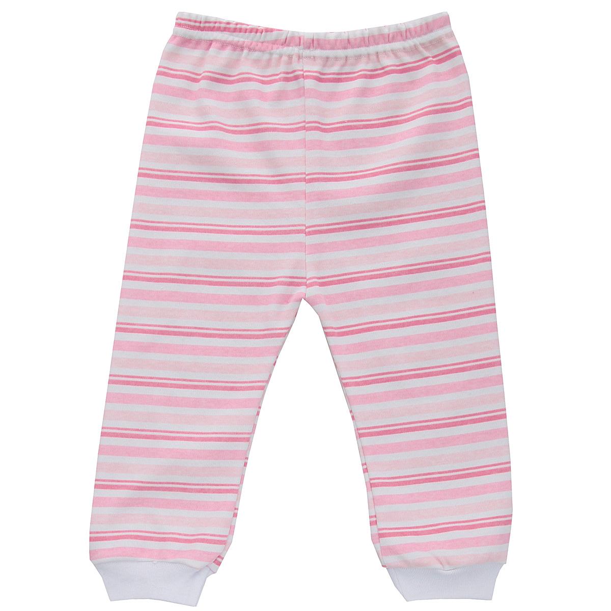 Штанишки Трон-плюс, цвет: розовый, белый. 5315_полоска. Размер 80, 12 месяцев5315_полоскаУдобные штанишки Трон-плюс идеально подойдут вашему ребенку и станут отличным дополнением к детскому гардеробу. Изготовленные из натурального хлопка, они необычайно мягкие и легкие, не сковывают движения, позволяют коже дышать и не раздражают даже самую нежную и чувствительную кожу ребенка. Штанишки на талии имеют эластичную резинку, благодаря чему они не сдавливают животик ребенка и не сползают. Низ штанишек дополнен широкими эластичными манжетами. Оформлена модель принтом в полоску. В таких штанишках ваш ребенок будет чувствовать себя комфортно и уютно.